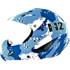 H2 Boardercross Blue Mimetic